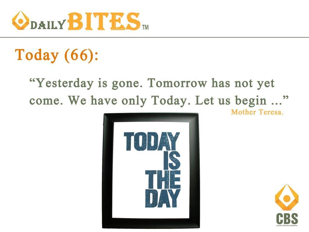 Daily Bite 66